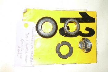 KAWASAKI ER5 C-1 BREAKING.  TOP & BOTTOM YOKE SPECIAL NUT & BOLT  #5(CON-D)